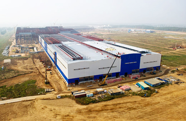 Антикоррозийная защита на заводе НЛМК Калуга