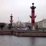 Ростральные колонны, г.СПб